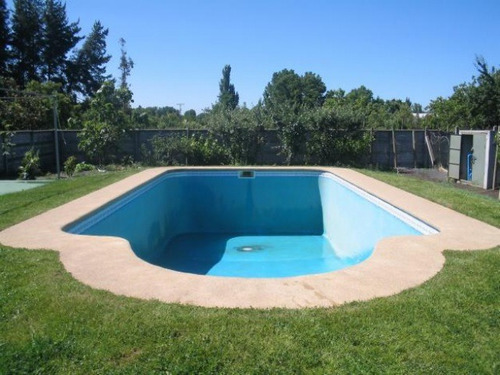 piscinas hormigón full equipadas !!!