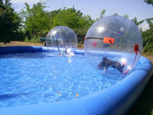 piscinas inflable para esferas acu tica roller ball