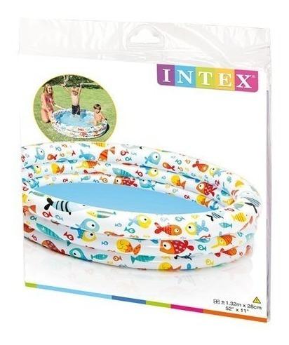 piscinas  inflables intex de 3 aros y 2 aros para niños