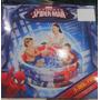 Piscina Inflable De 3 Anillos Spiderman 122x30cm