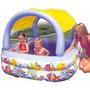 Piscina Inflable Con Parasol O Techo Para Niños Intex 56471