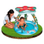 Piscina Inflable Con Techo De Figuras Intex