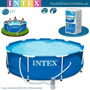 Piscina Intex 3.05 X 76 Cm Con Filtro