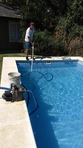 piscinas limpieza mantenimiento