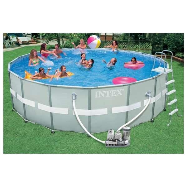 piscinas portatiles para jardin o terraza
