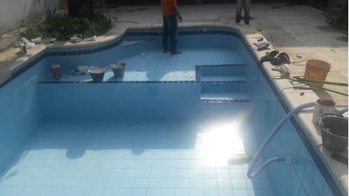 piscinas rotas con perdidas de hormigon o ladrillo ,contrucc