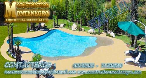piscinas tipo playa en bolivia