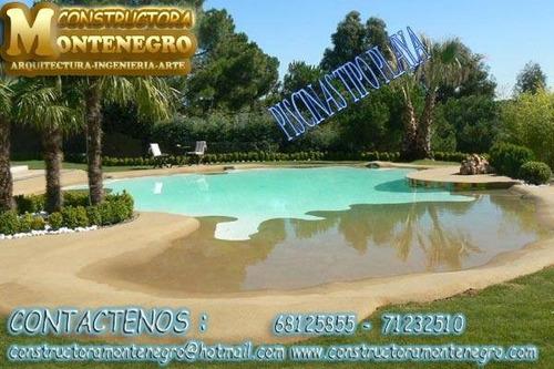piscinas tipo playa (o de arena) construcciones para bolivia