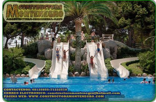 piscinas y juegos acuaticos en el estado plurinacional