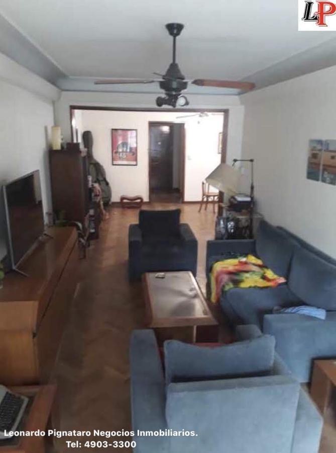 piso 4 amb c/dep toil recep y bño/compl bcon excelente ubicacion