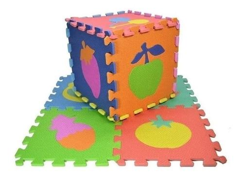 piso alfombra goma eva 10 piezas bebe proteccion anti golpes