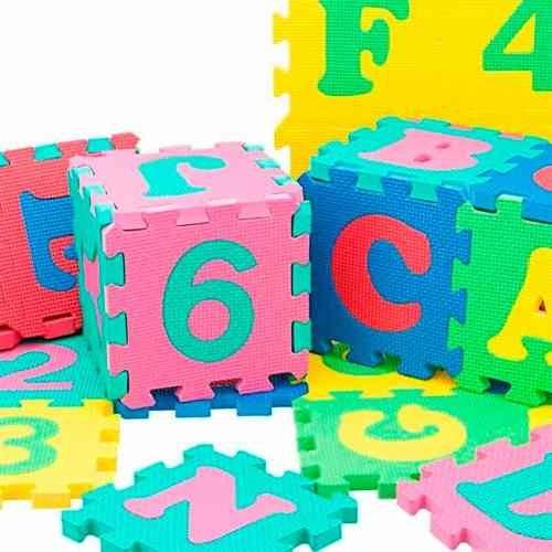 piso alfombra goma eva colchoneta didactica para niños 30x3