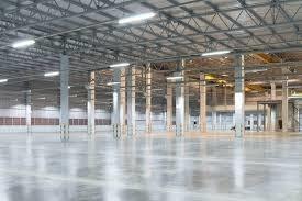piso alisado industrial / microcemento.