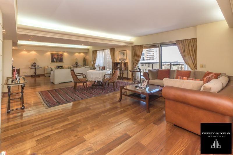 piso alto - 5 dormitorios - balcon terraza- torre
