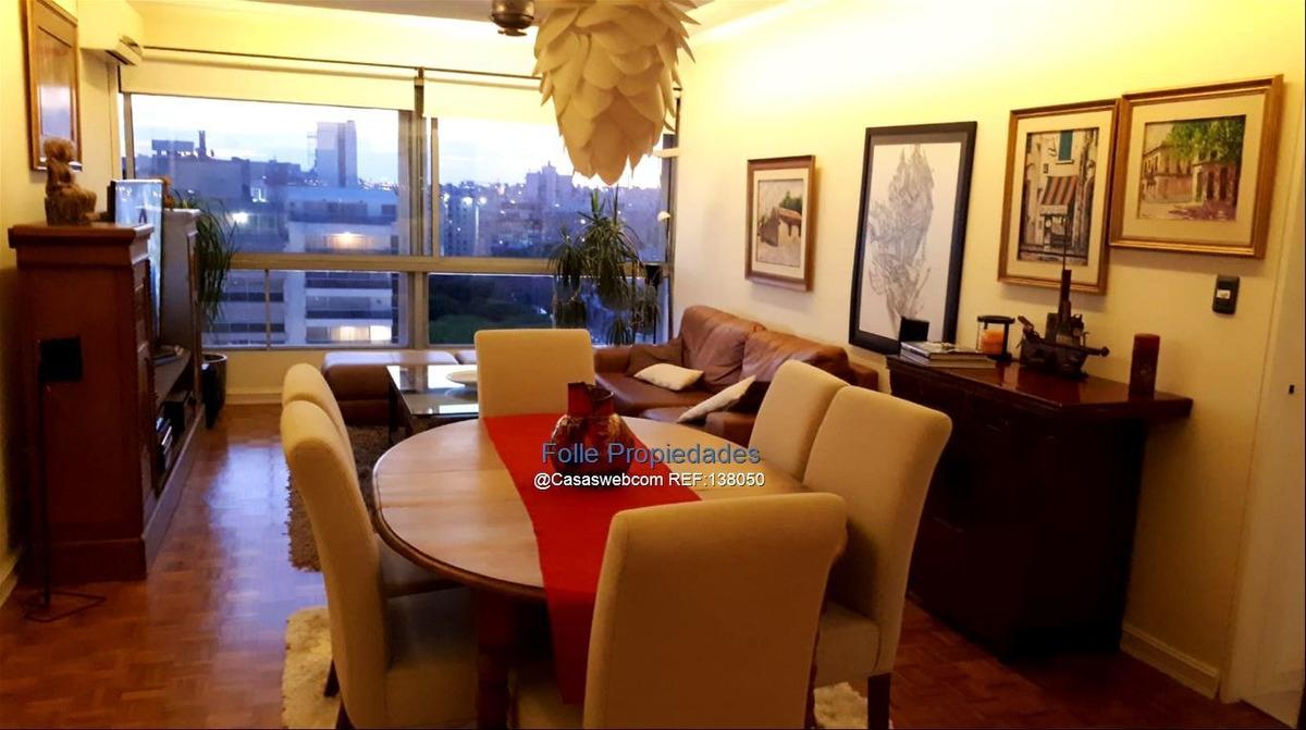 piso alto, vista mar 3 dormitorios  y servicio