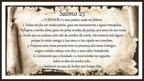 piso azulejo cerâmico decorativo salmo 23