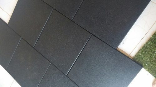 piso borracha emborrachado academias crossfit playground eco