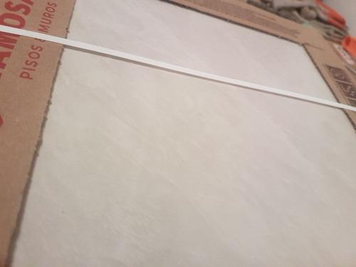piso ceramico esmaltado gris