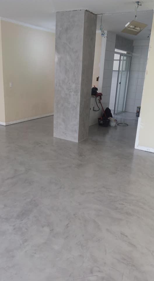 Piso Cimento Queimado Moderno M 227 O De Obra Inclusa R