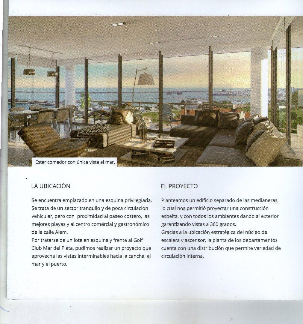 piso de 3 ambientes con balcon-cochera