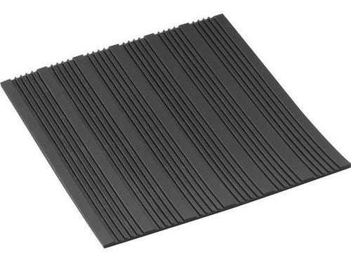 piso de goma rayado antideslizante escalera rampa  ( precio x m2 )