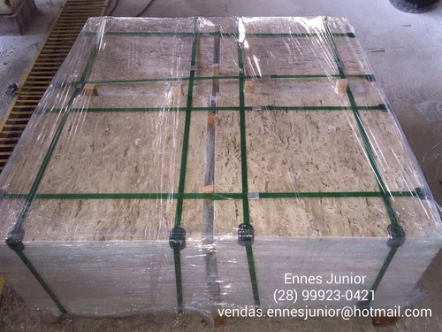 piso de granito / mármore travertino nacional (bege bahia)