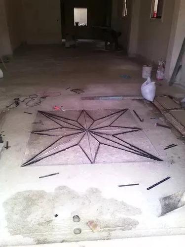 piso de granito y topes de granito, escaleras etc accesible