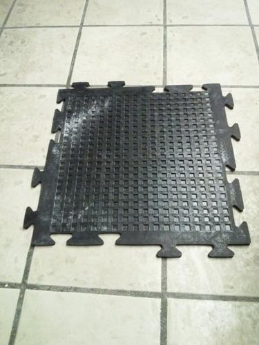 piso de hule solido para gimnasio de 7 mm