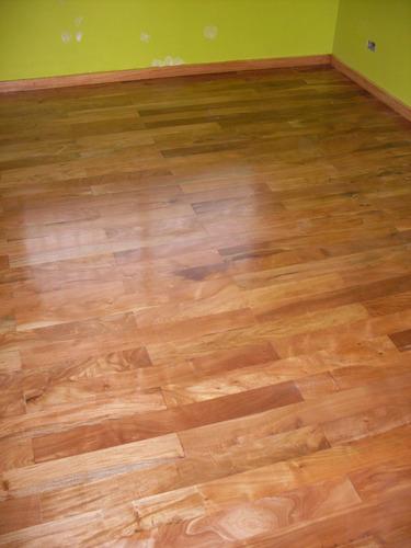 piso de madera calden  1  x 7 cm a 11 cm x largos vs,  1950