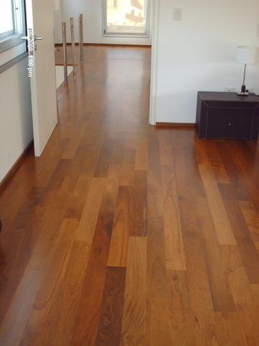 piso de madera de lapacho entablonado de 3/4  x 3  x ls vs