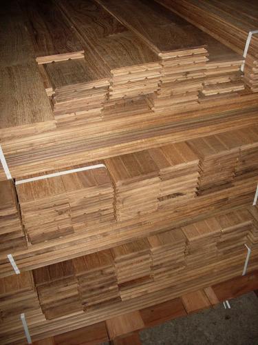 piso de madera incienzo entablonado 1  x 8 c x lv. vs, 1900