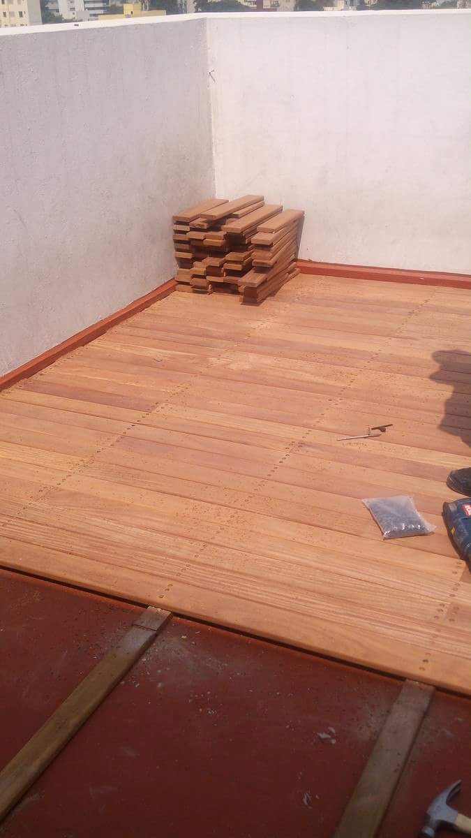 Piso De Madera Para Exterior Deck Cumaru - $ 850.00 en Mercado Libre