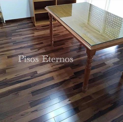 piso de madera prefinished guayubira