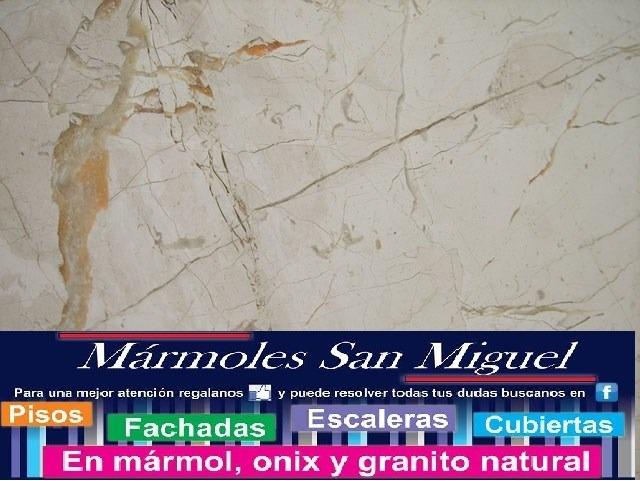 Piso de marmol beige maya lamina fachadas cubiertas for Laminas de marmol y granito