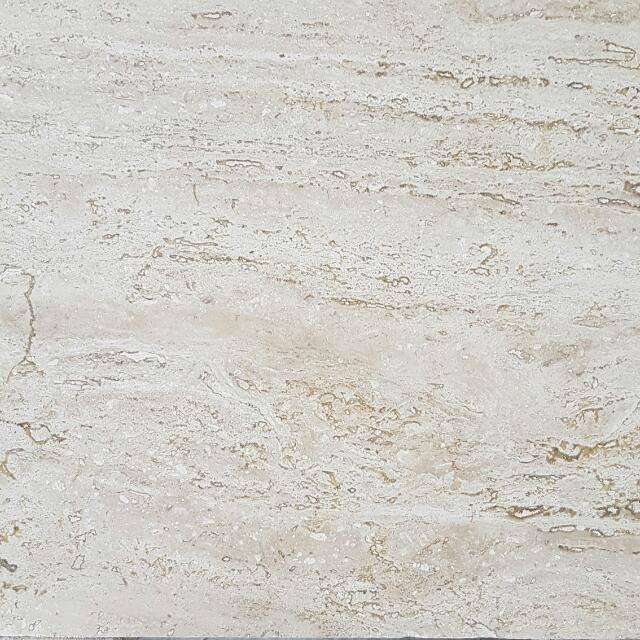 Piso de marmol travertino fiorito puebla 30 5 x 30 5 for Marmol de travertino