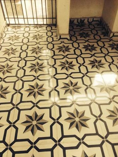 Piso de pasta mosaico hidraulico terrazo y cantocreto - Mosaico hidraulico precio ...
