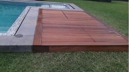 piso deck en madera masisa