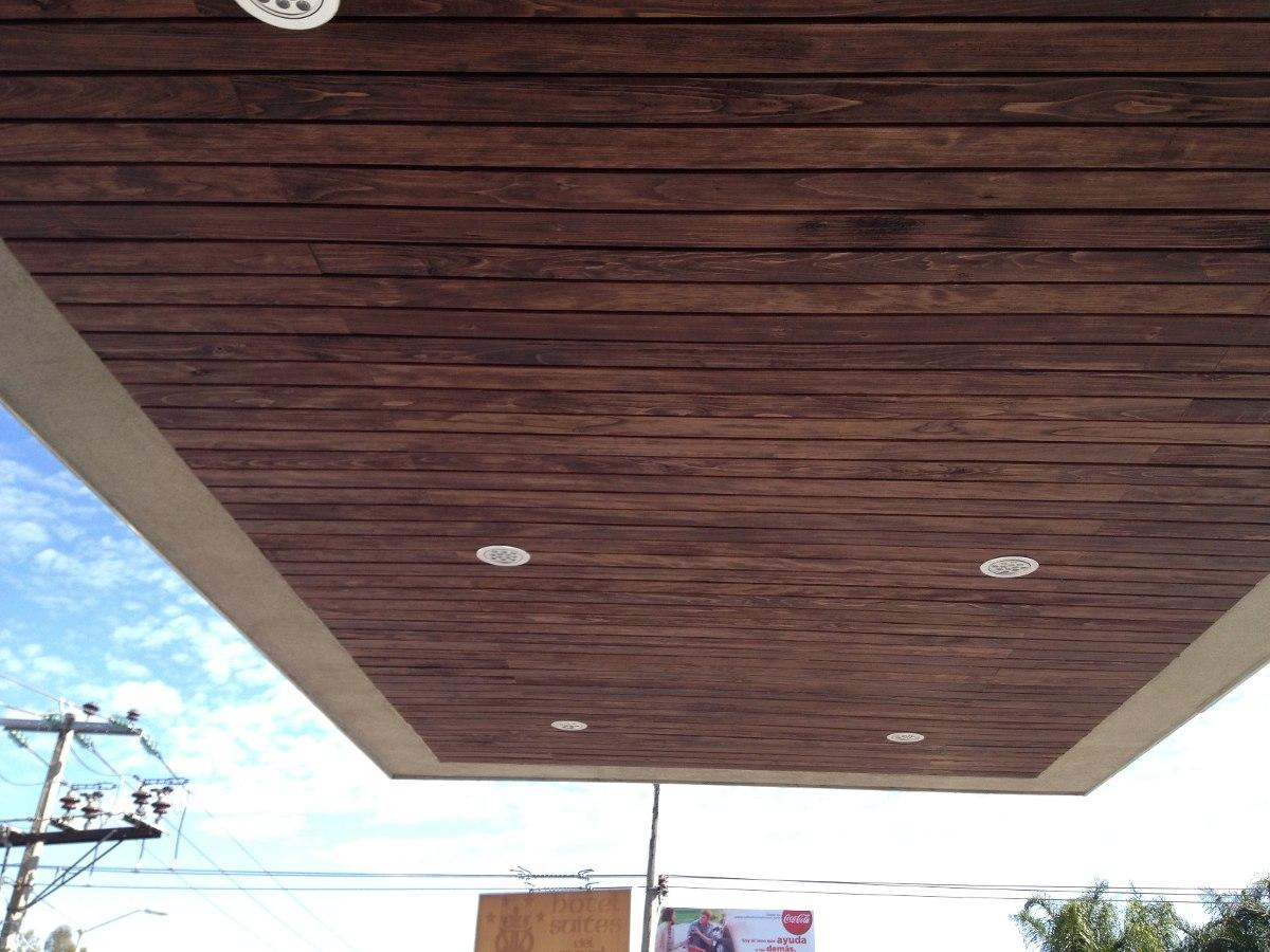 Piso deck madera para exterior en mercado libre - Madera para exterior ...