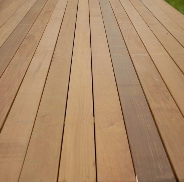 Piso deck terraza madera teca ipe y cumaru tipo expotacion en mercado libre - Madera de ipe ...