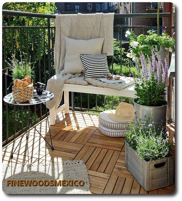 Piso deck terraza madera teca ipe y cumaru tipo expotacion - Madera teca exteriores ...