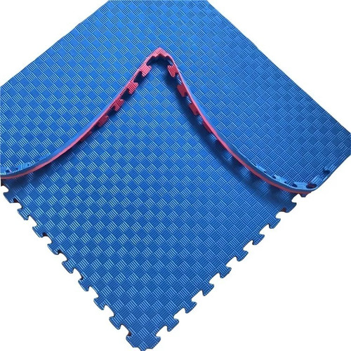 piso deportivo goma eva 1x1 pack por 48 unidades 20mm encastrables con bordes y combinables entre colores alta calidad