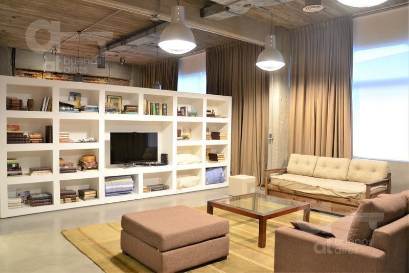 piso en san telmo. moderno loft de categoría. alquiler temporario sin garantías.
