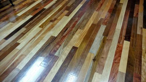 piso entablonado  mix 3/4 largos varios