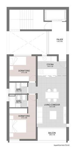piso exclusivo 2 dormitorios. 50% financiación