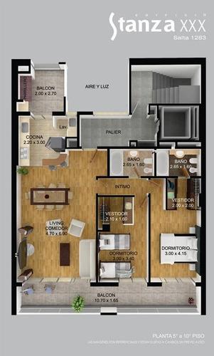 piso exclusivo al pozo - parque españa - excelente calidad - financiacion