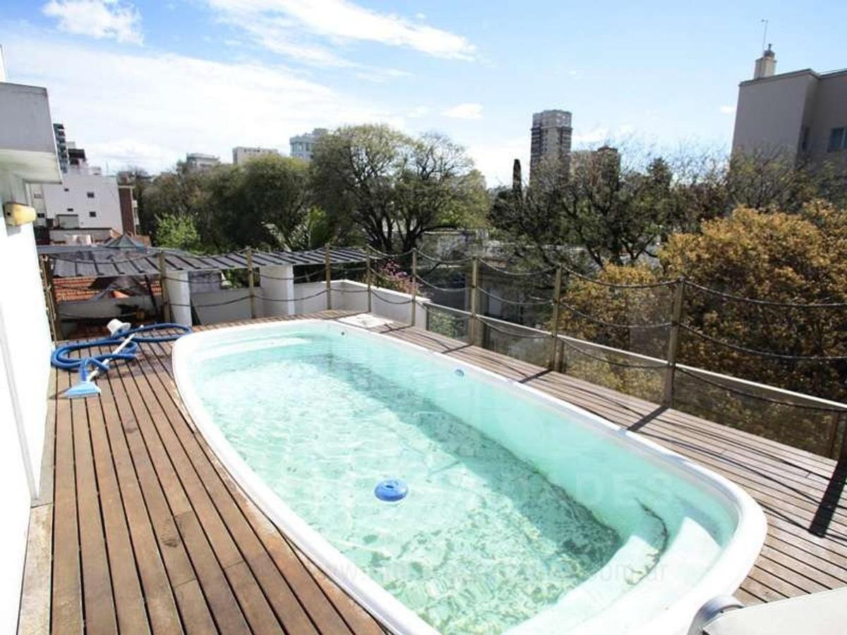 piso exclusivo con terraza - parrilla y pileta propia