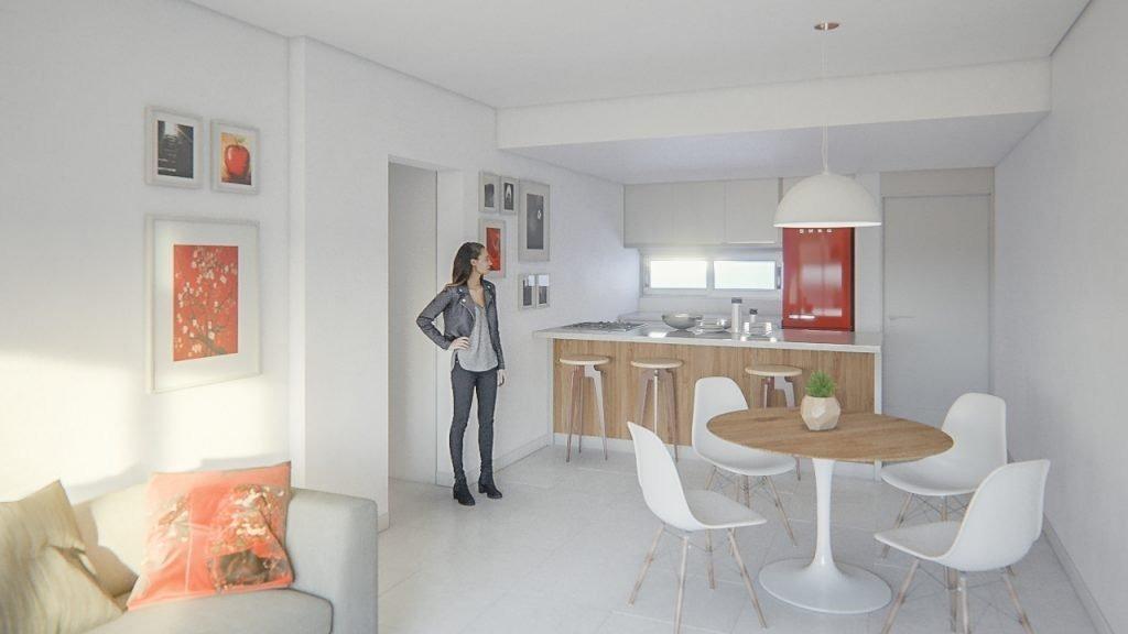 piso exlcusivo de 2 dormitorios con amenities - frente al ingreso del alto rosario shopping - financiacion y/o permuta