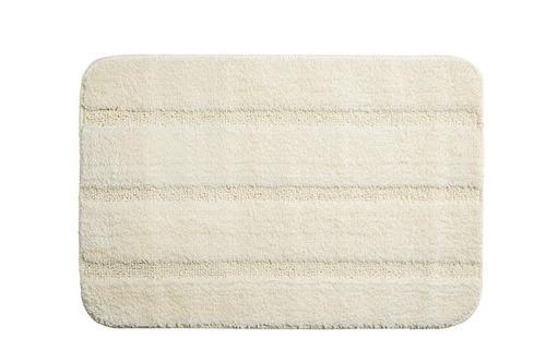 piso felpudo baño engomado 40x60 beige / mallbits