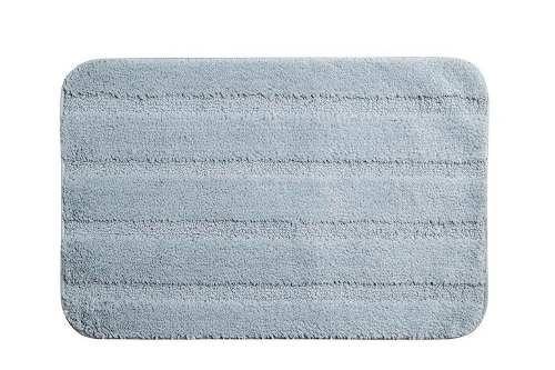 piso felpudo baño engomado 40x60 gris / mallbits