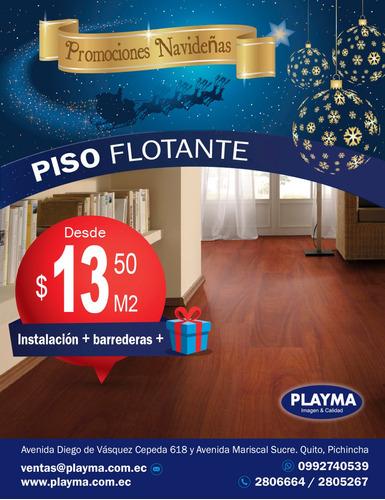 piso flotante $ 13.50 tabloncillo papel tapiz   2806664